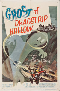 """Ghost of Dragstrip Hollow (American International, 1959). Folded, Fine/Very Fine. One Sheet (27"""" X 41""""). Explo..."""