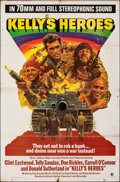 "Movie Posters:War, Kelly's Heroes (MGM, 1970). Folded, Fine. 70 MM Roadshow One Sheet (27"" X 41""). War.. ..."