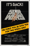 """Movie Posters:Science Fiction, Star Wars (20th Century Fox, R-1981). Folded, Very Fine. One Sheet (27"""" X 41"""") Tom Jung Artwork. Science Fiction.. ..."""