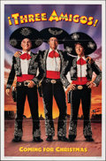 "Movie Posters:Comedy, Three Amigos (Orion, 1986). Folded, Very Fine. One Sheet (27"" X 41"") SS, Advance. Comedy.. ..."