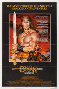 "Movie Posters:Action, Conan the Destroyer & Other Lot (Universal, 1984). Folded, Very Fine. One Sheets (3) (27"" X 41"" & 26.5"" X 39.5""). Action.. ... (Total: 3 Items)"