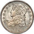 Bust Dimes, 1829 10C Small Over Large 10C, JR-9, FS-901, R.4, MS65 PCGS....