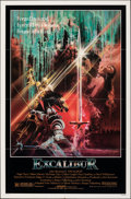 """Movie Posters:Fantasy, Excalibur & Other Lot (Warner Bros., 1981). Folded, Overall: Fine+. One Sheets (2) (27"""" X 41""""). Bob Peak Artwork. Fantasy.. ... (Total: 2 Items)"""