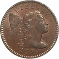 Large Cents, 1795 1C Lettered Edge, S-74, B-2, Low R.4, MS64 Brown PCGS. CAC....