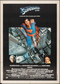 "Movie Posters:Action, Superman the Movie (Warner Bros., 1979). Folded, Fine/Very Fine. Italian 2 - Fogli (39.25"" X 55""). Action.. ..."
