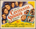"""Movie Posters:Musical, Centennial Summer & Other Lot (20th Century Fox, 1946). Rolled, Very Good/Fine. Half Sheets (3) (22"""" X 28""""). Musical...."""
