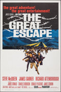 """Movie Posters:War, The Great Escape (United Artists, 1963). Folded, Very Fine-. One Sheet (27"""" X 41""""). Frank McCarthy Artwork. War.. ..."""