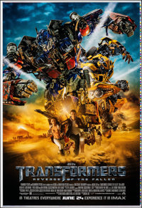 Transformers: Revenge of the Fallen (Paramount, 2009). Rolled, Near Mint-. Printer's Proof International One Sheet (28&q...