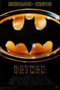 """Movie Posters:Action, Batman (Warner Bros., 1989). Rolled, Very Fine. One Sheet (27"""" X 40.5"""") SS. Action.. ..."""