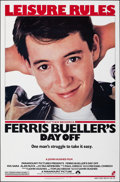 "Movie Posters:Comedy, Ferris Bueller's Day Off (Paramount, 1986). Rolled, Very Fine. One Sheet (27"" X 41""). Comedy.. ..."