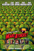 """Movie Posters:Science Fiction, Mars Attacks! (Warner Bros., 1996). Rolled, Very Fine+. One Sheet (27"""" X 40"""") SS Advance, Page Wood Artwork. Science Fiction..."""