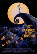 """Movie Posters:Animation, The Nightmare Before Christmas (Touchstone, 1993). Rolled, Very Fine+. One Sheet (27"""" X 40"""") DS. Animation.. ..."""