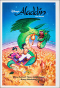 "Movie Posters:Animation, Aladdin (Buena Vista Television, 1994). Rolled, Very Fine+. Printer's Proof Television Poster (28"" X 41"") SS. Animation.. ..."