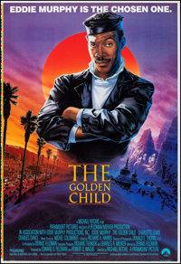 """The Golden Child (Paramount, 1986). Rolled, Very Fine+. Printer's Proof One Sheet (28"""" X 41"""") SS John Alvin Ar..."""