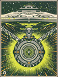 "Movie Posters:Science Fiction, Star Trek Marathon (Gallery 1988, 2016). Rolled, Overall: Very Fine+. 3-D Posters (3) (18"" X 24"") SS, 3 Styles, Jeffr..."