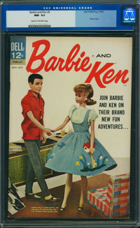 Barbie and Ken #3 (Dell, 1963) CGC NM- 9.2 Cream to off-white pages