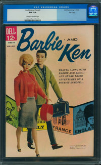 Barbie and Ken #2 (Dell, 1962) CGC NM 9.4 Cream to off-white pages