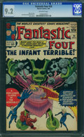 Silver Age (1956-1969):Superhero, Fantastic Four #24 (Marvel, 1964) CGC NM- 9.2 Off-white pages.