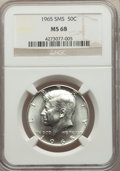 1965 50C SMS MS68 NGC. NGC Census: (0/0). PCGS Population: (0/0). Mintage 65,879,368
