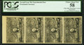 """""""Olier Watermarked Experimental"""" 50¢ Second Issue PCGS Choice About New 58"""
