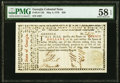 Colonial Notes:Georgia, Georgia May 4, 1778 $20 PMG Choice About Unc 58 EPQ.. ...