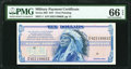 Military Payment Certificates:Series 692, Series 692 $10 PMG Gem Uncirculated 66 EPQ.. ...