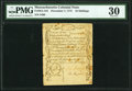 Colonial Notes:Massachusetts, Massachusetts December 7, 1775 16s PMG Very Fine 30.. ...