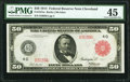 Large Size:Federal Reserve Notes, Fr. 1015a $50 1914 Red Seal Federal Reserve Note PMG Choice Extremely Fine 45.. ...