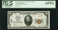 National Bank Notes:Nevada, McGill, NV - $20 1929 Ty. 2 The McGill National Bank Ch. # 9452 PCGS Very Choice New 64PPQ.. ...