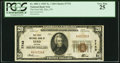 National Bank Notes:Nevada, Elko, NV - $20 1929 Ty. 1 The First National Bank Ch. # 7743 PCGS Very Fine 25.. ...