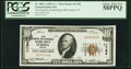 National Bank Notes:Nevada, Eureka, NV - $10 1929 Ty. 1 The Farmers & Merchants National Bank Ch. # 11784 PCGS Choice About New 58PPQ.. ...