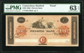 Obsoletes By State:Connecticut, Hartford, CT- Phoenix Bank $100 18__ as G168a Proof PMG Choice Uncirculated 63 EPQ.. ...