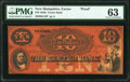 Obsoletes By State:New Hampshire, Exeter, NH- Exeter Bank $10 18__ as G10 Proof PMG Choice Uncirculated 63.. ...