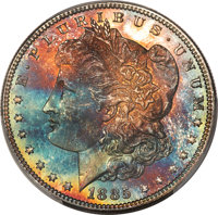 1885 $1 MS66 Prooflike PCGS. CAC....(PCGS# 7159)