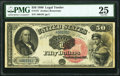 Fr. 157 $50 1880 Legal Tender PMG Very Fine 25