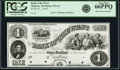 Madison, WI – Bank of the West $1 18__ G2 Proof PCGS Gem New 66PPQ POCs