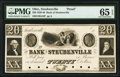 Obsoletes By State:Ohio, Steubenville, OH- Bank of Steubenville $20 18__ G44 Wolka 2474-21 Proof PMG Gem Uncirculated 65 EPQ.. ...