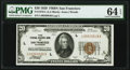 Fr. 1870-L $20 1929 Federal Reserve Bank Note. PMG Choice Uncirculated 64 EPQ