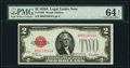Small Size:Legal Tender Notes, Fr. 1502 $2 1928A Legal Tender Note. PMG Choice Uncirculated 64 EPQ.. ...
