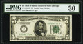 Fr. 1950-G* $5 1928 Federal Reserve Star Note. PMG Very Fine 30