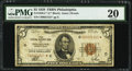 Small Size:Federal Reserve Bank Notes, Fr. 1850-C* $5 1929 Federal Reserve Bank Star Note. PMG Very Fine 20.. ...