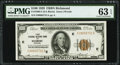 Fr. 1890-E $100 1929 Federal Reserve Bank Note. PMG Choice Uncirculated 63 EPQ