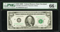 Fr. 2166-D $100 1969C Federal Reserve Note. PMG Gem Uncirculated 66 EPQ