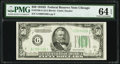 Small Size:Federal Reserve Notes, Fr. 2106-G $50 1934D Federal Reserve Note. PMG Choice Uncirculated 64 EPQ.. ...