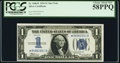 Small Size:Silver Certificates, Fr. 1606* $1 1934 Silver Certificate Star. PCGS Choice About New 58PPQ.. ...