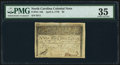 Colonial Notes:North Carolina, North Carolina April 2, 1776 $5 Thrush PMG Choice Very Fine 35.. ...