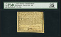 New Jersey June 9, 1780 $20 PMG Choice Very Fine 35