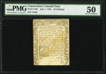 Colonial Notes:Massachusetts, Connecticut July 1, 1780 20s PMG About Uncirculated 50.. ...