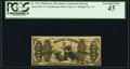 Fractional Currency:Third Issue, Fr. 1373 50¢ Third Issue Justice PCGS Extremely Fine 45.. ...