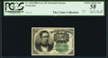 Fractional Currency:Fifth Issue, J.N. Huston Courtesy Autograph Fr. 1264 10¢ Fifth Issue PCGS Choice About New 58.. ...